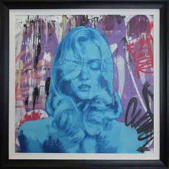 Mind Astray Blue on board by Zombiedan