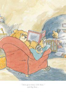 Barbara Firth Now go to Sleep Little Bear Print