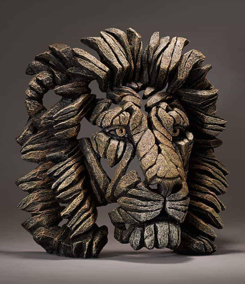 Lion Bust - Savannah