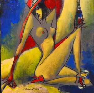 Femmes Aux Le Corvettes Original