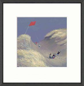 The Red Kite FRAMED Resize