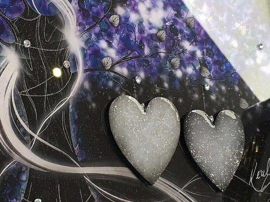 Power Of Love Purple Close Up