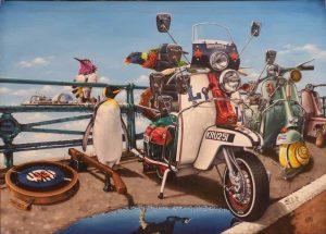 Alberto Martinez Original Painting We Are The Mods lg