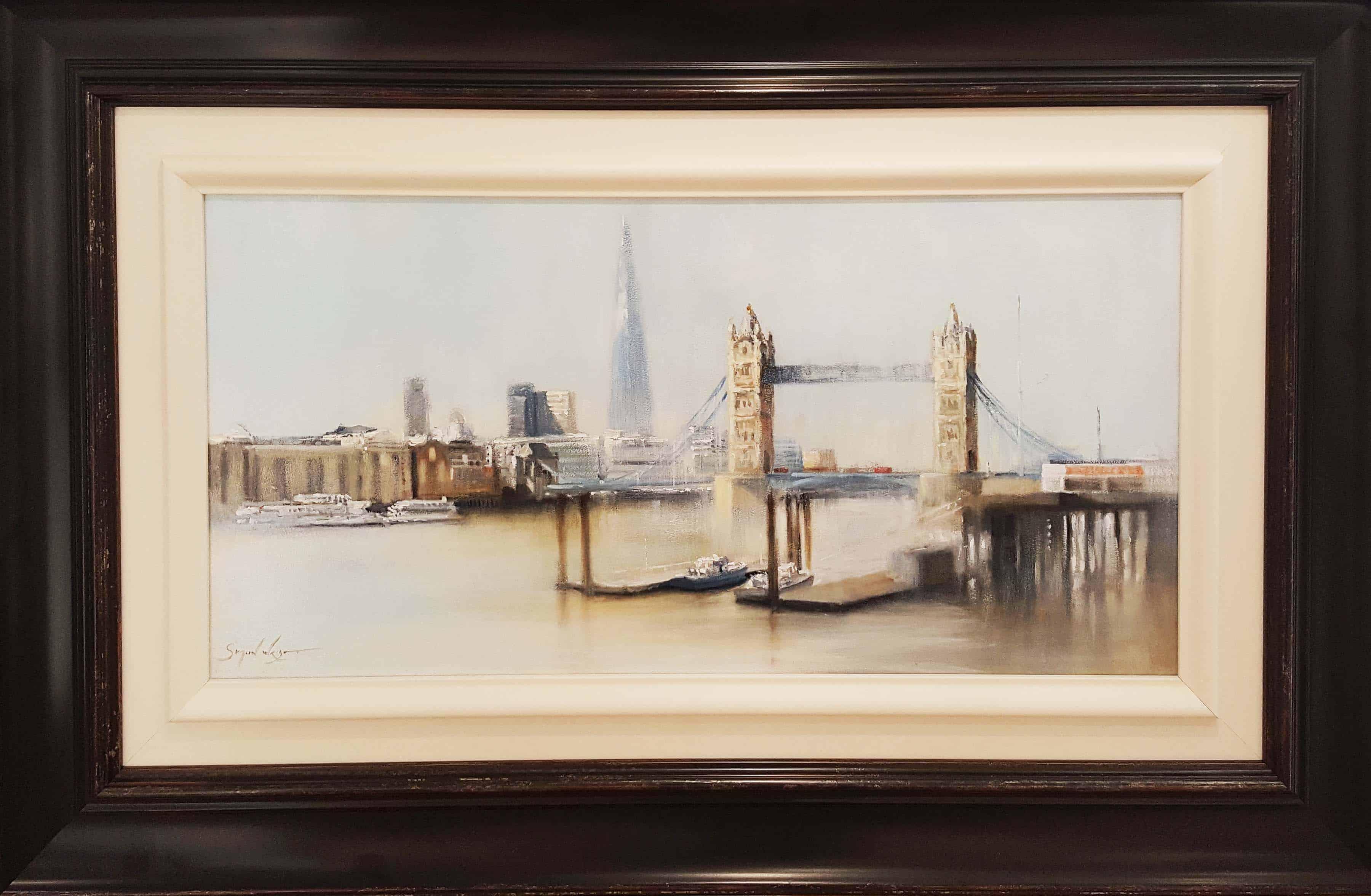 Misty Tower Bridge