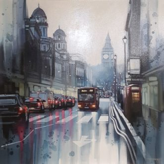 London Rain by Ben Jeffery