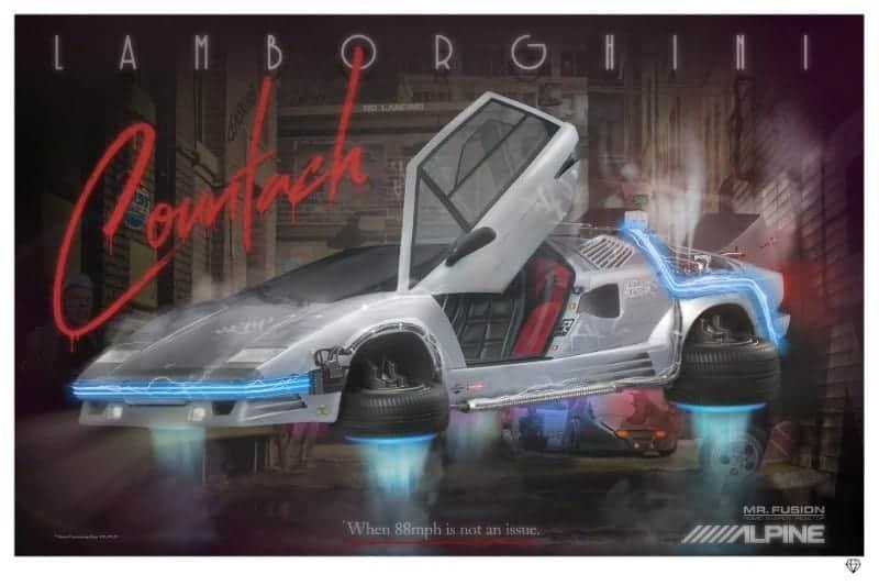 No Landing – Lamborghini Countach