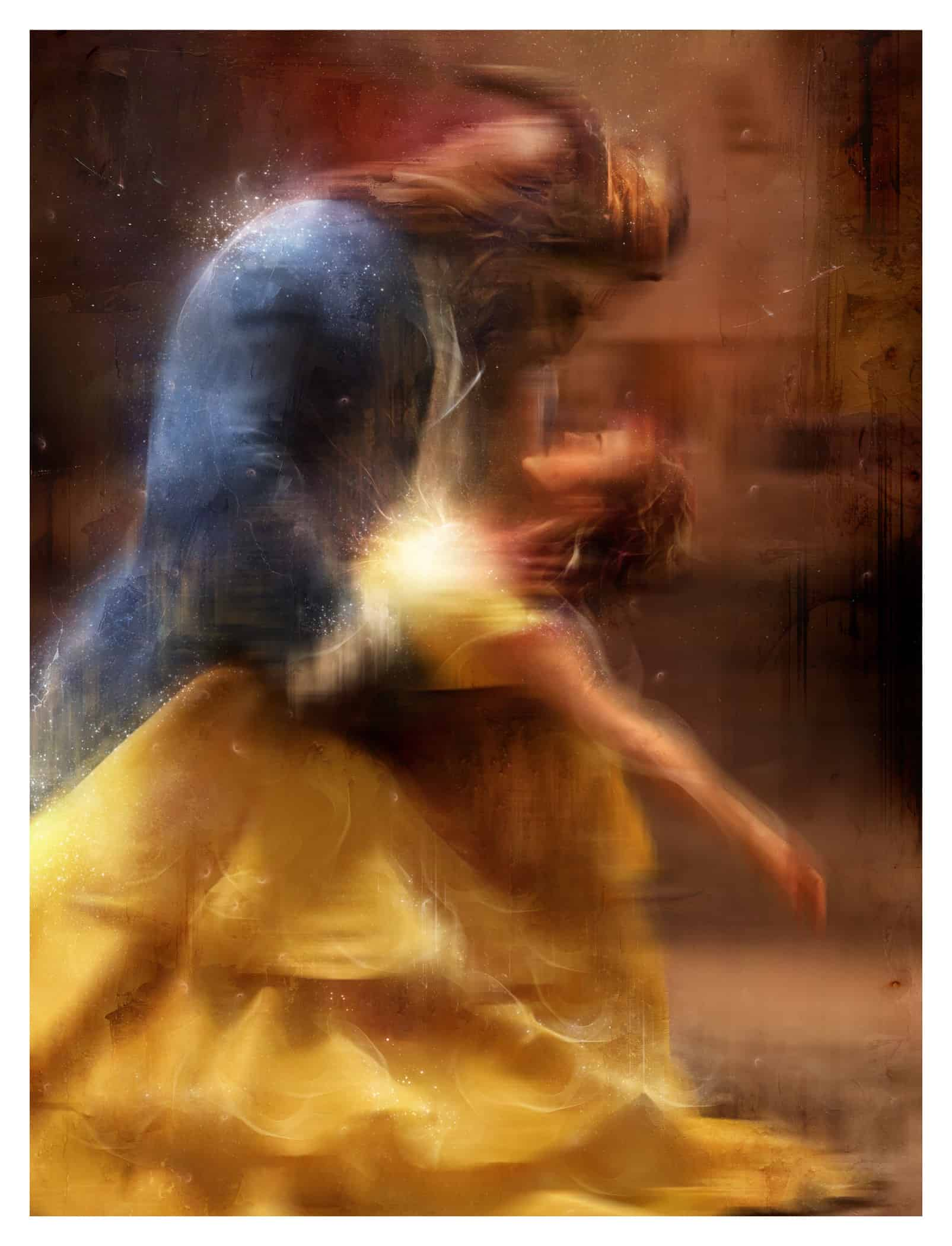 We are together now, Beauty and the Beast by Mastk Davies Artist