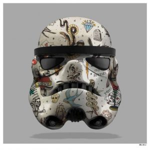 Tattooed Storm Trooper