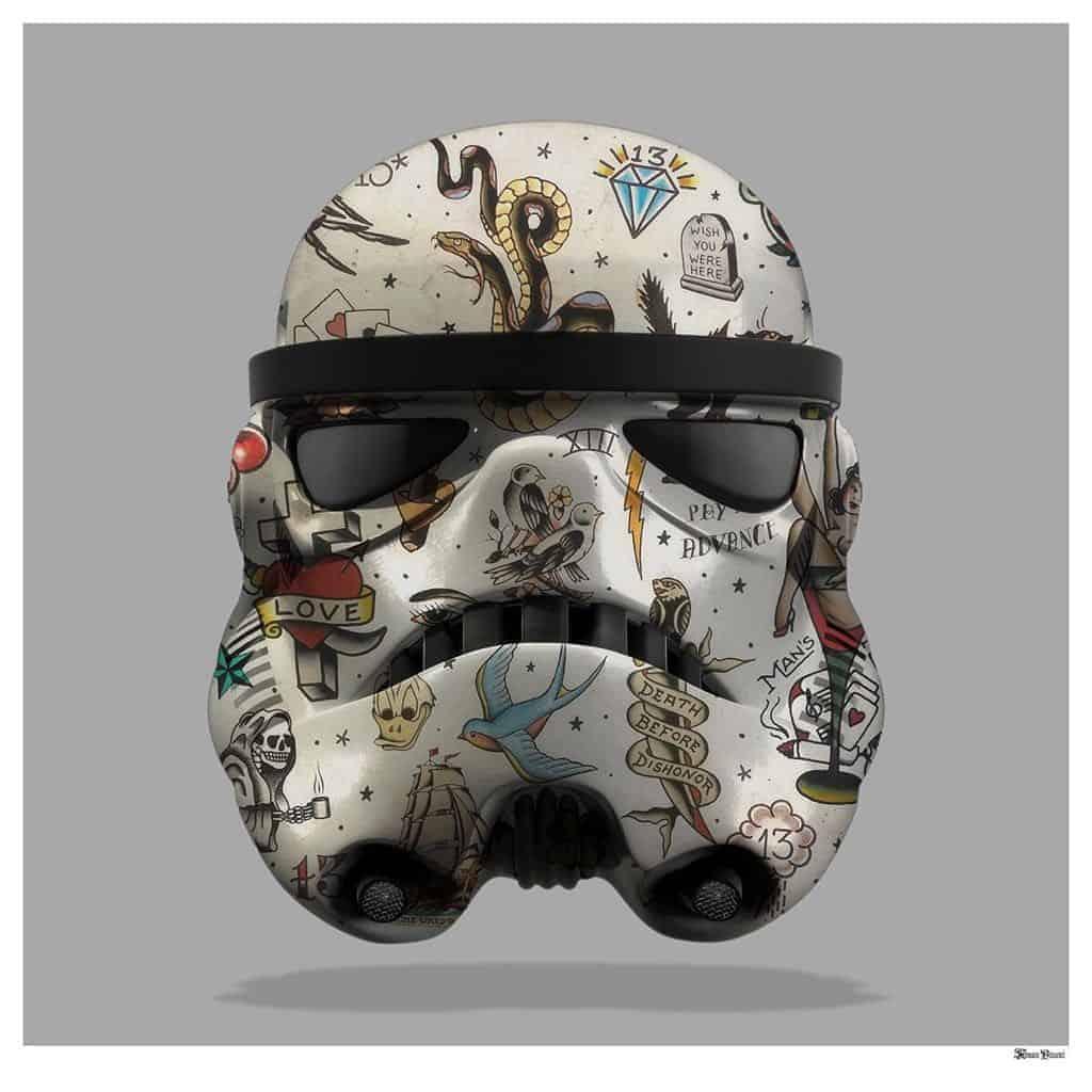 Tattooed Storm Trooper