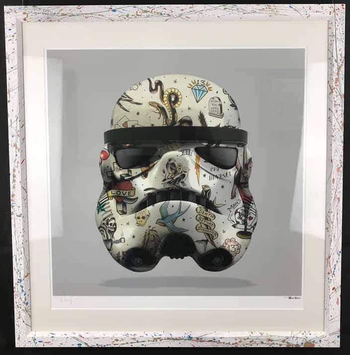 Monica Vincent – Emb Frame Grey Storm Trooper