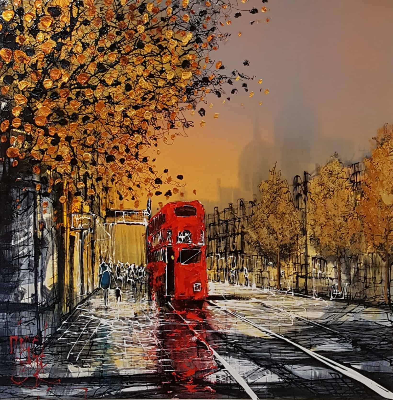 Autumn Bus