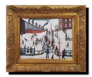 In The Style Of L.S. Lowry – The Scene