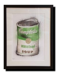 Wanstead soup framed