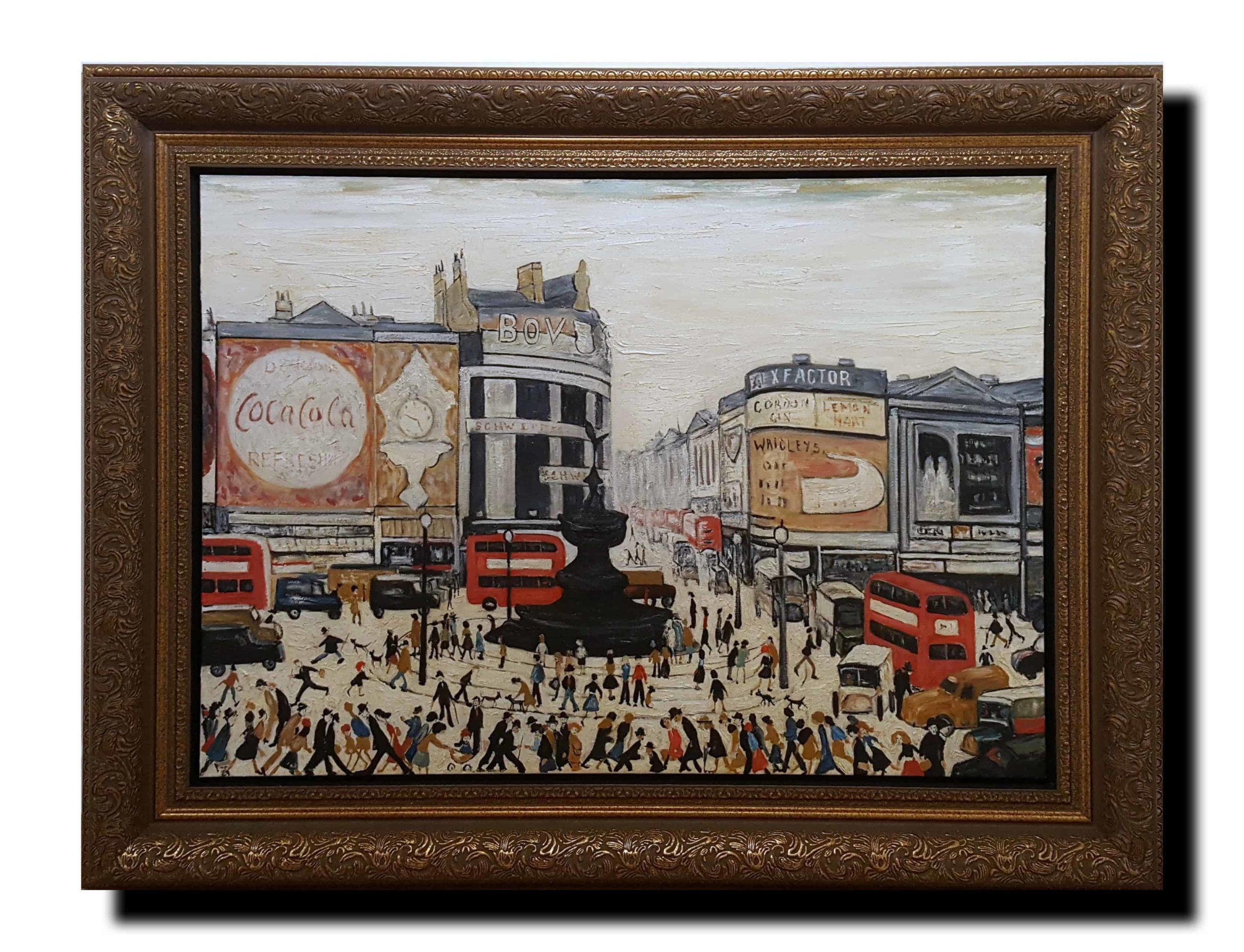 Piccadilly framed
