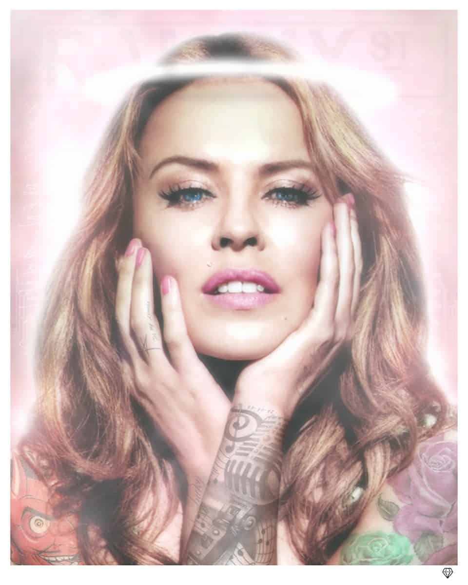 Kylie Minogue Colour Tattoo Series by JJ Adams