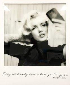Monroe Selfie - Lightbox Edition By JJ Adams