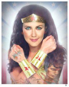 Wonder Woman Colour Tattoo Series