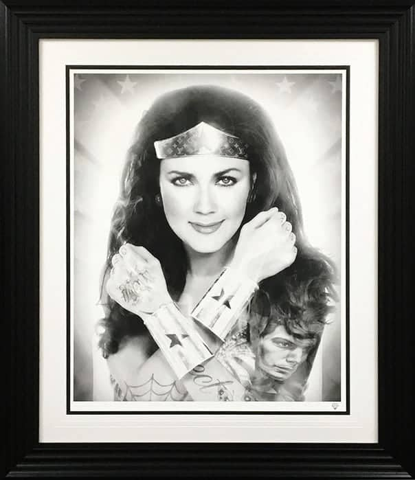 Wonder Woman Black & White Tattoo Series