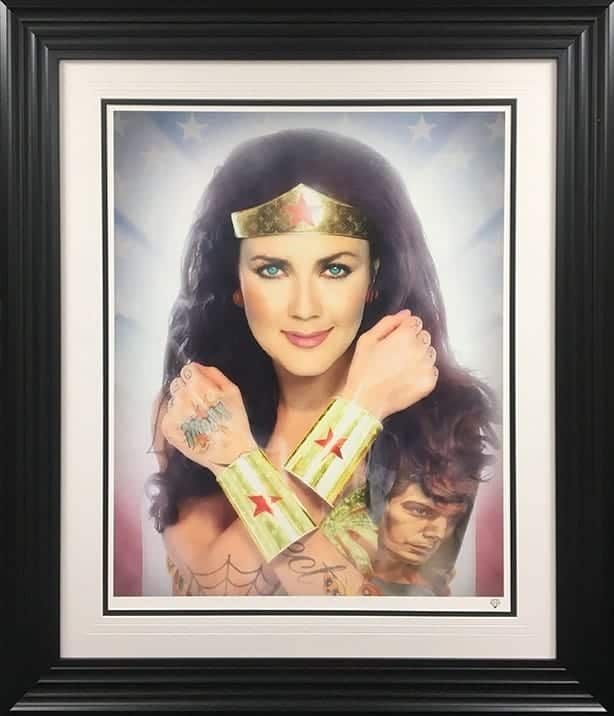 Wonder Woman Colour Tattoo Series