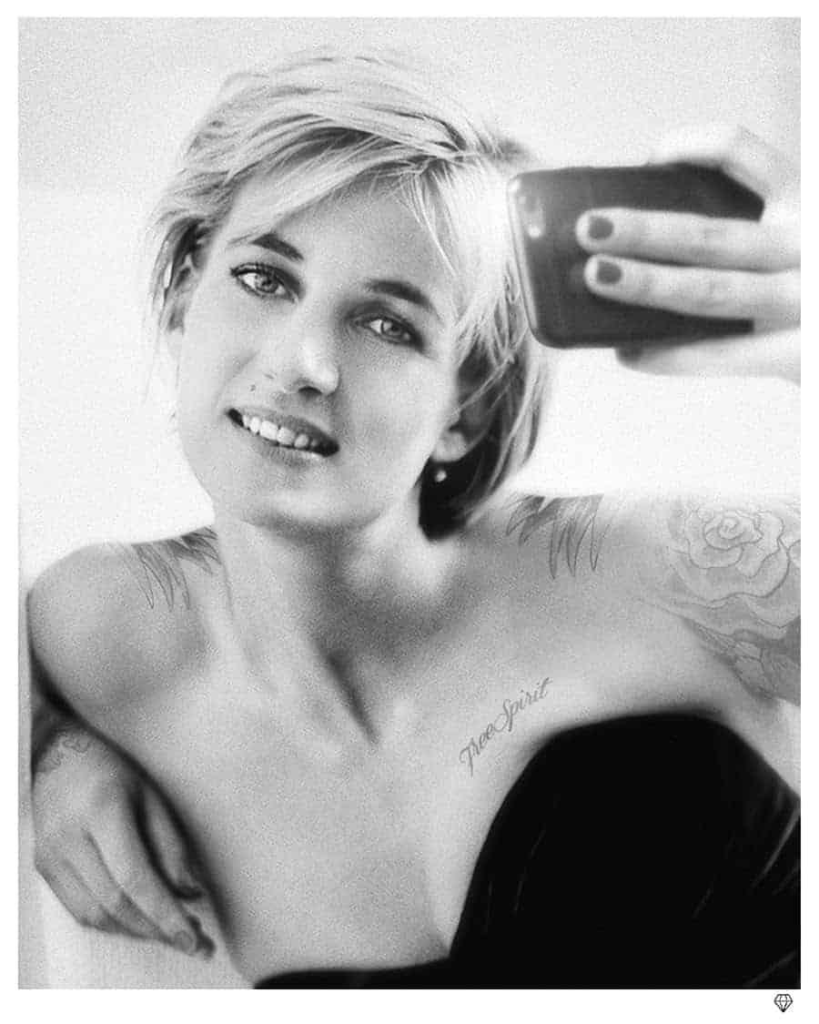 Princess Diana Selfie