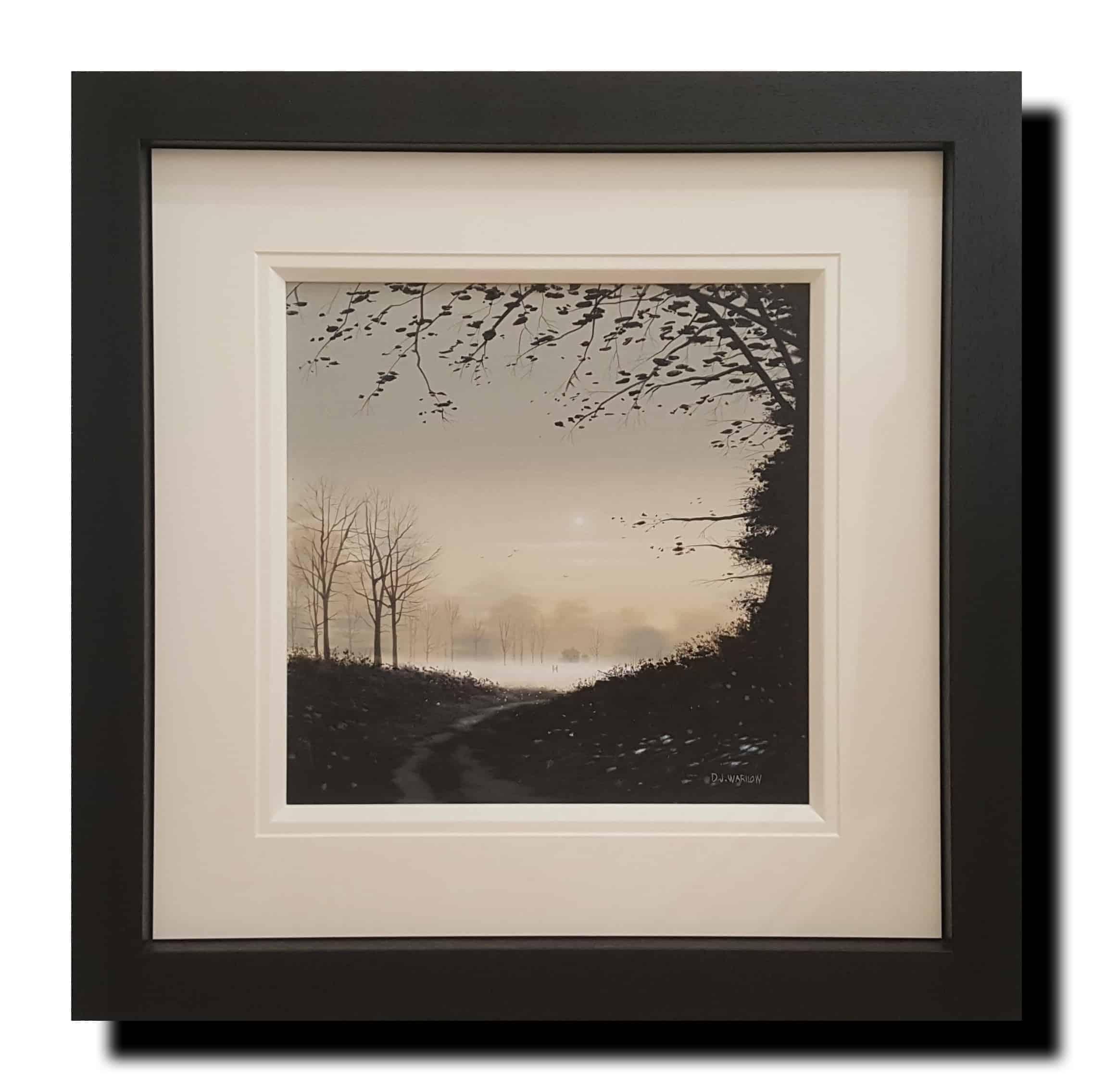 distanyt mist framed