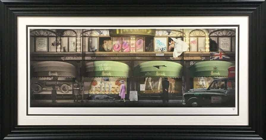 harrods framed