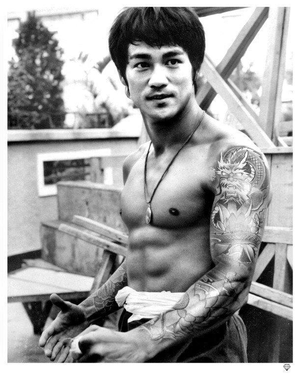 Bruce Lee Tattoo