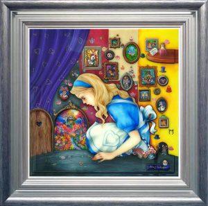 Alice Finds the Little Door