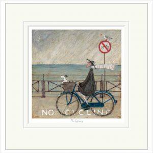 No Cycling MOUNTED