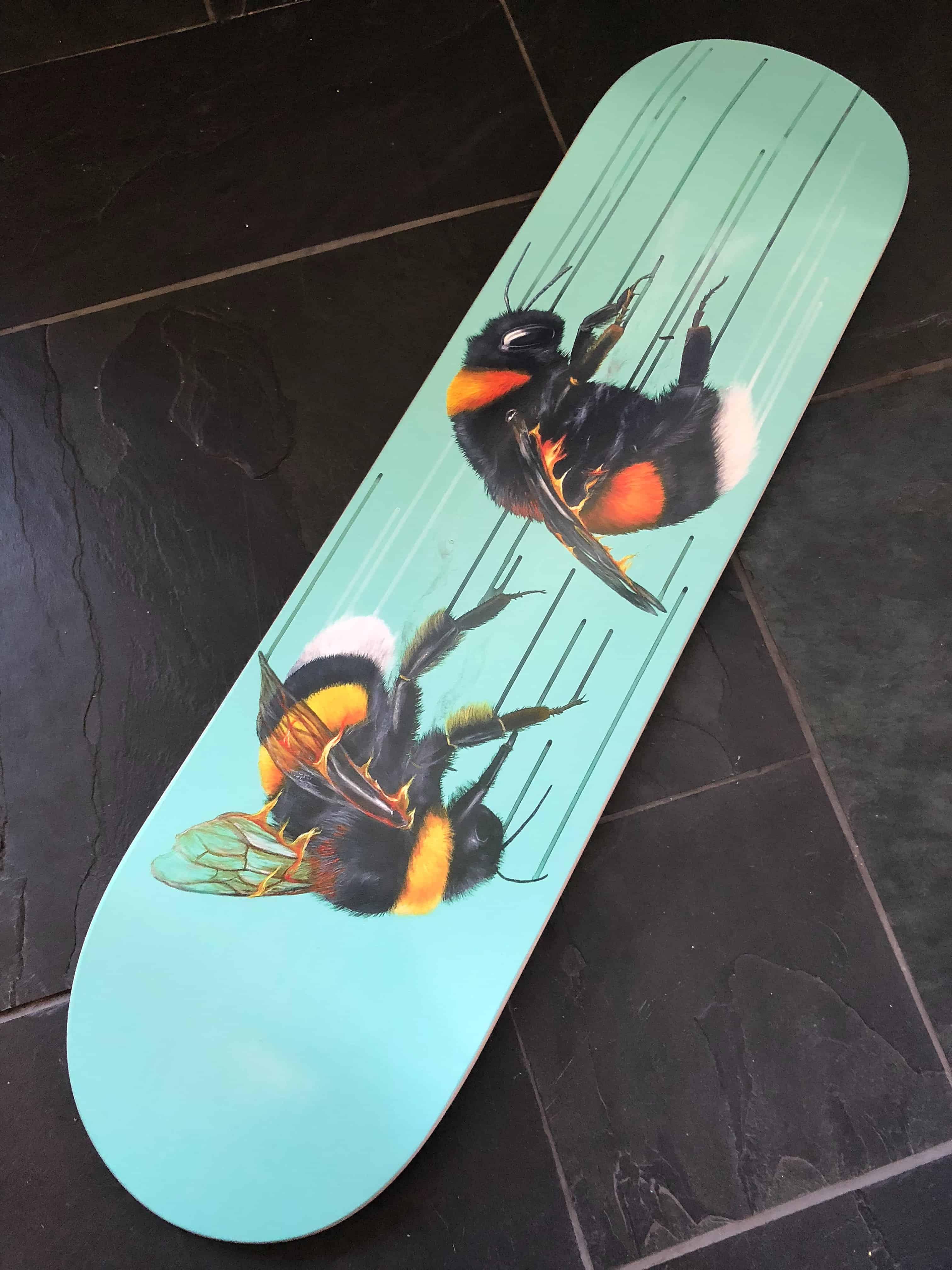 Fire and Alchemy Skate Deck