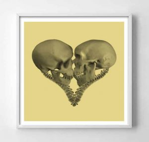 Till Death (Gold) Framed