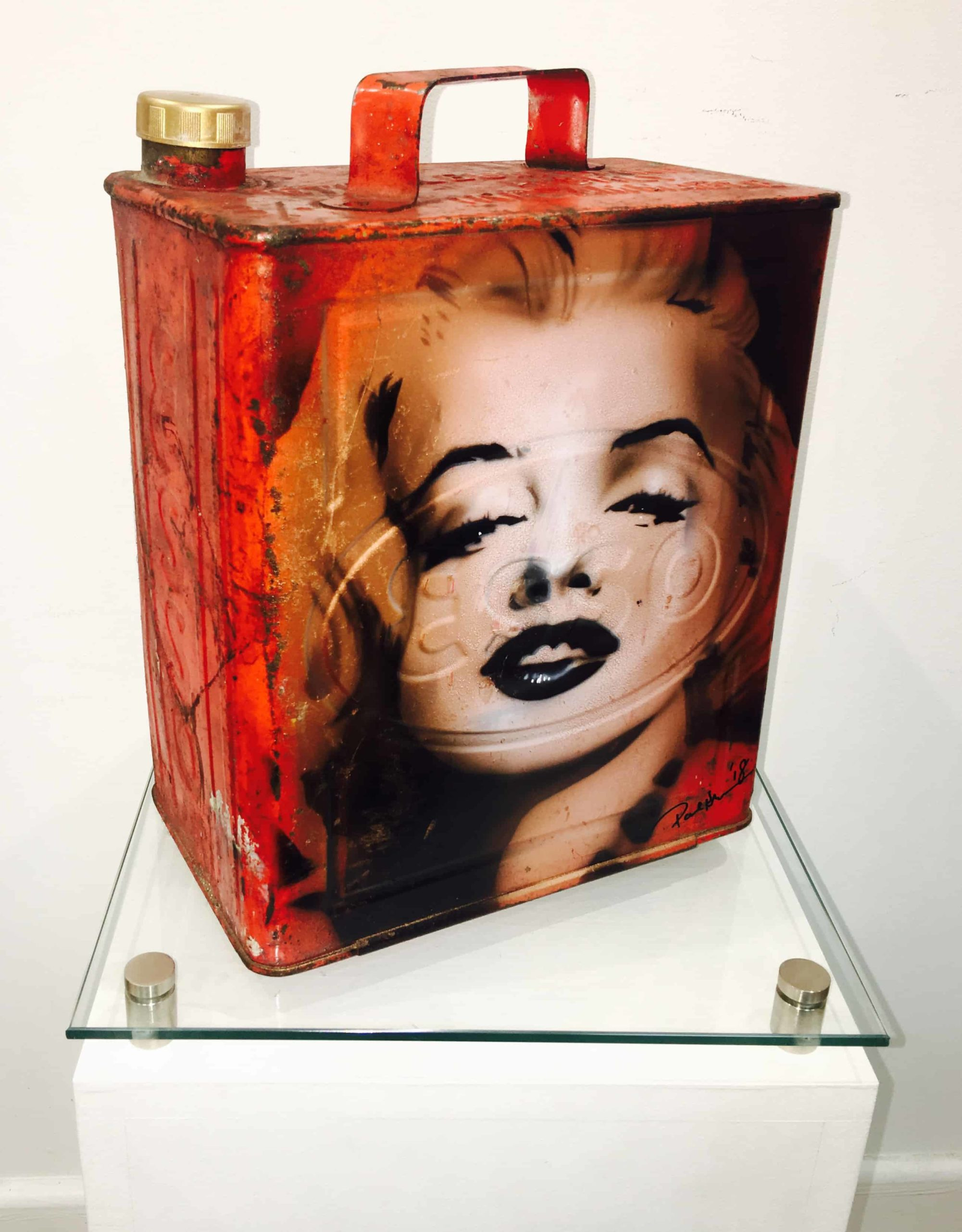 Marilyn Monroe Petrol Can Red
