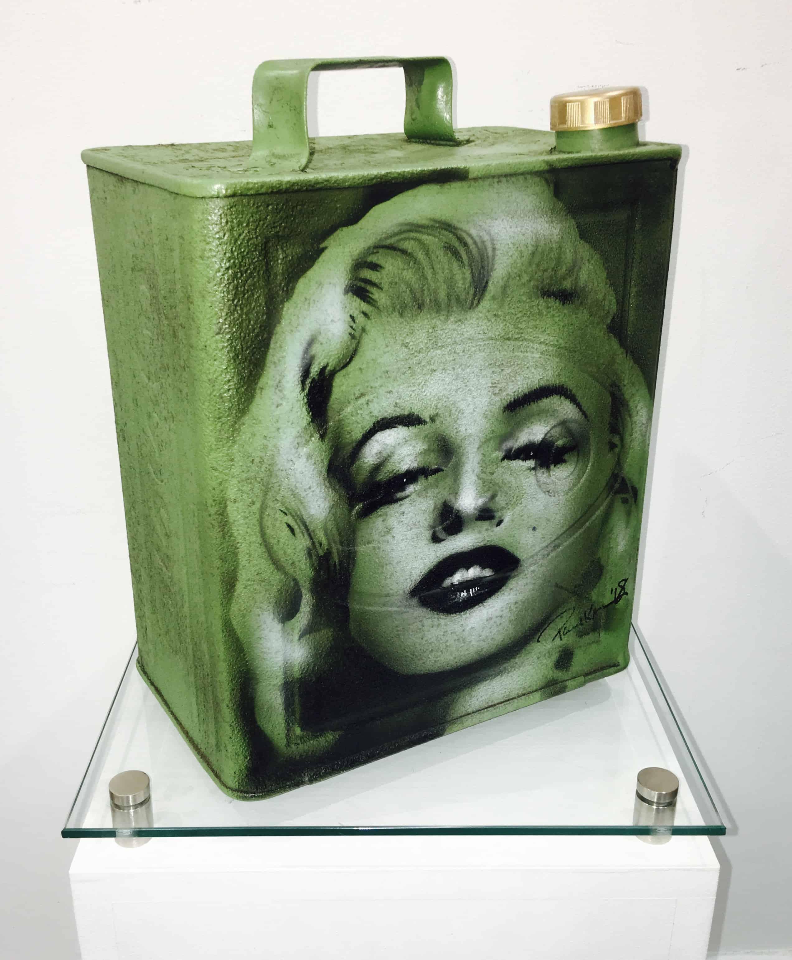 Marilyn Monroe Green Petrol
