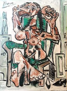 Picasso - Seated Woman
