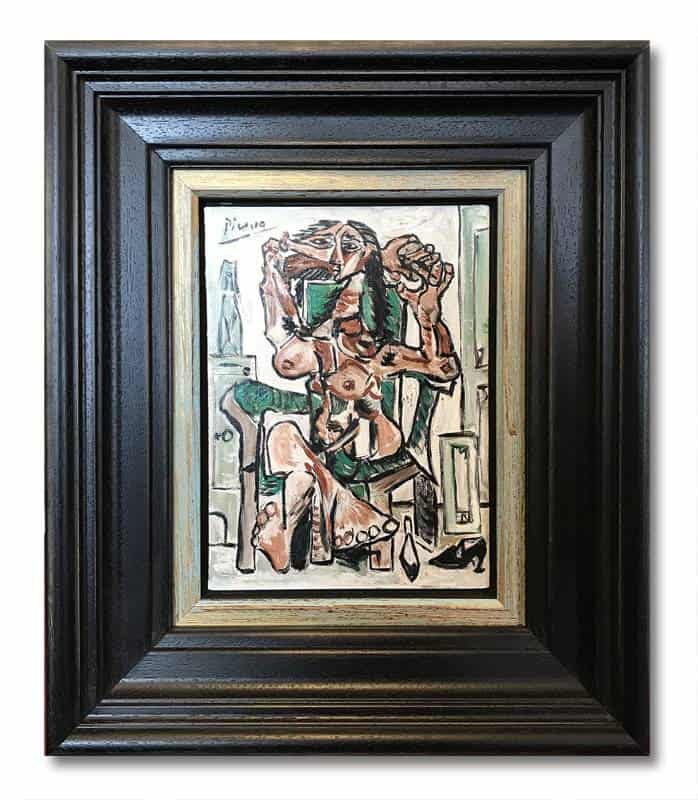 Picasso – Seated Woman