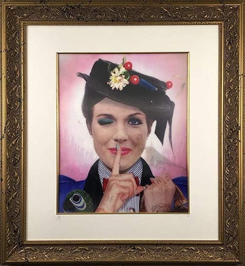 A Spoonful of Sugar (Mary Poppins) Lenticular