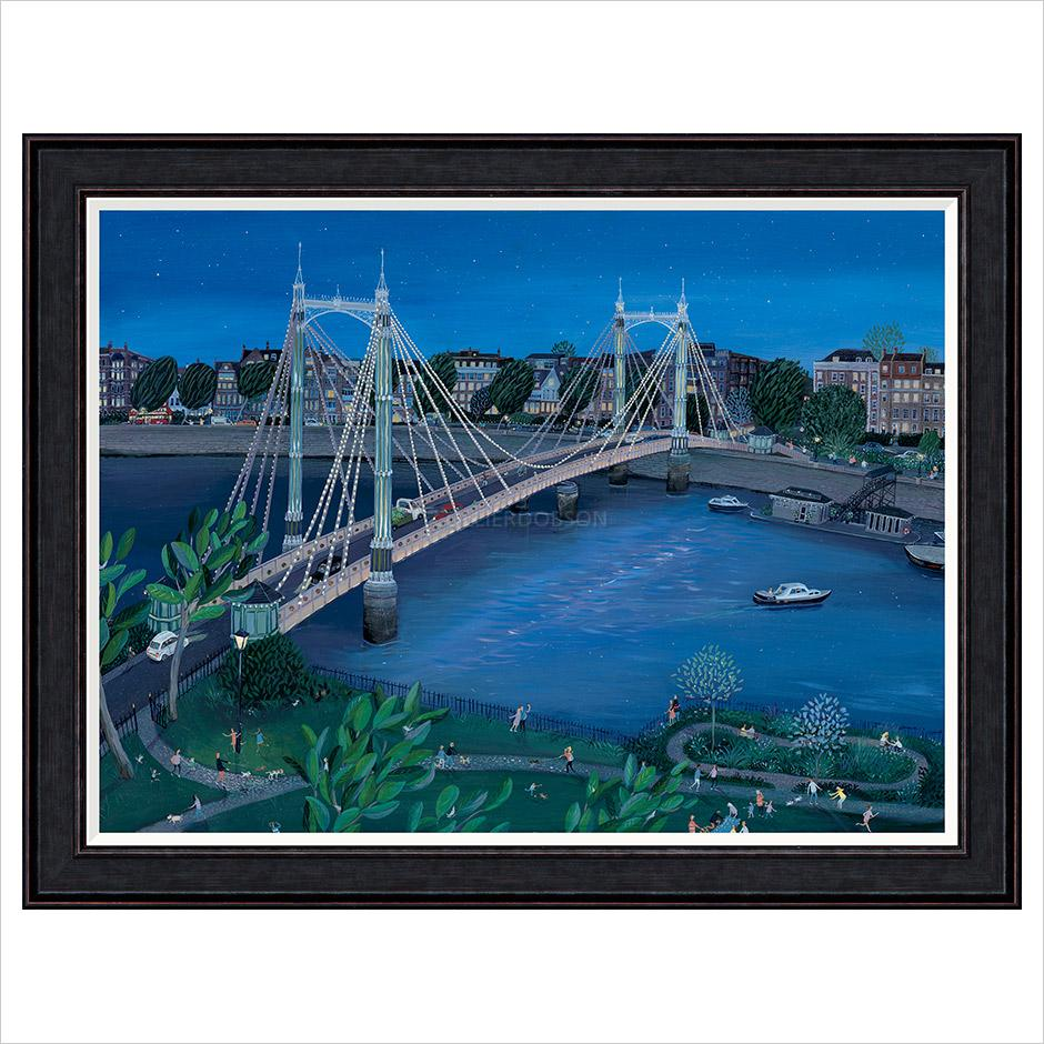Albert Bridge FRAMED