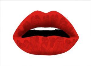 Lover's Kiss Framed