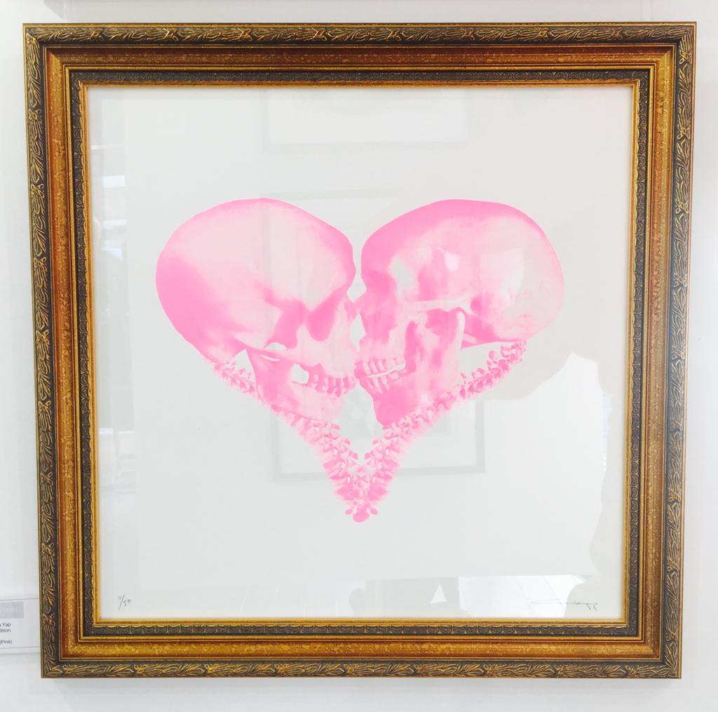Till Death (Pink) Framed