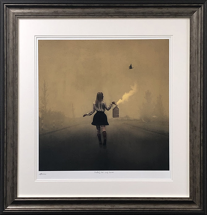 finding her way home framed