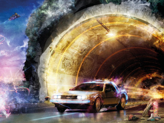 OUTAHERE (Back To The Future) by Mark Davies