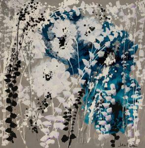 teal bloom by jean picton
