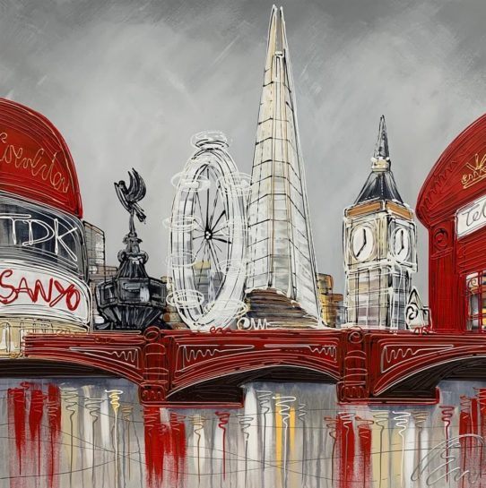 iconic london by edward waite