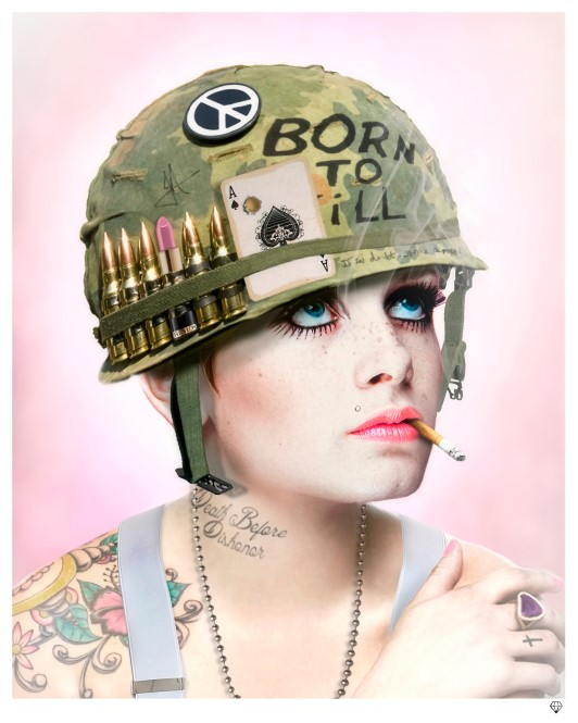 Full Metal Twiggy by JJ Adams