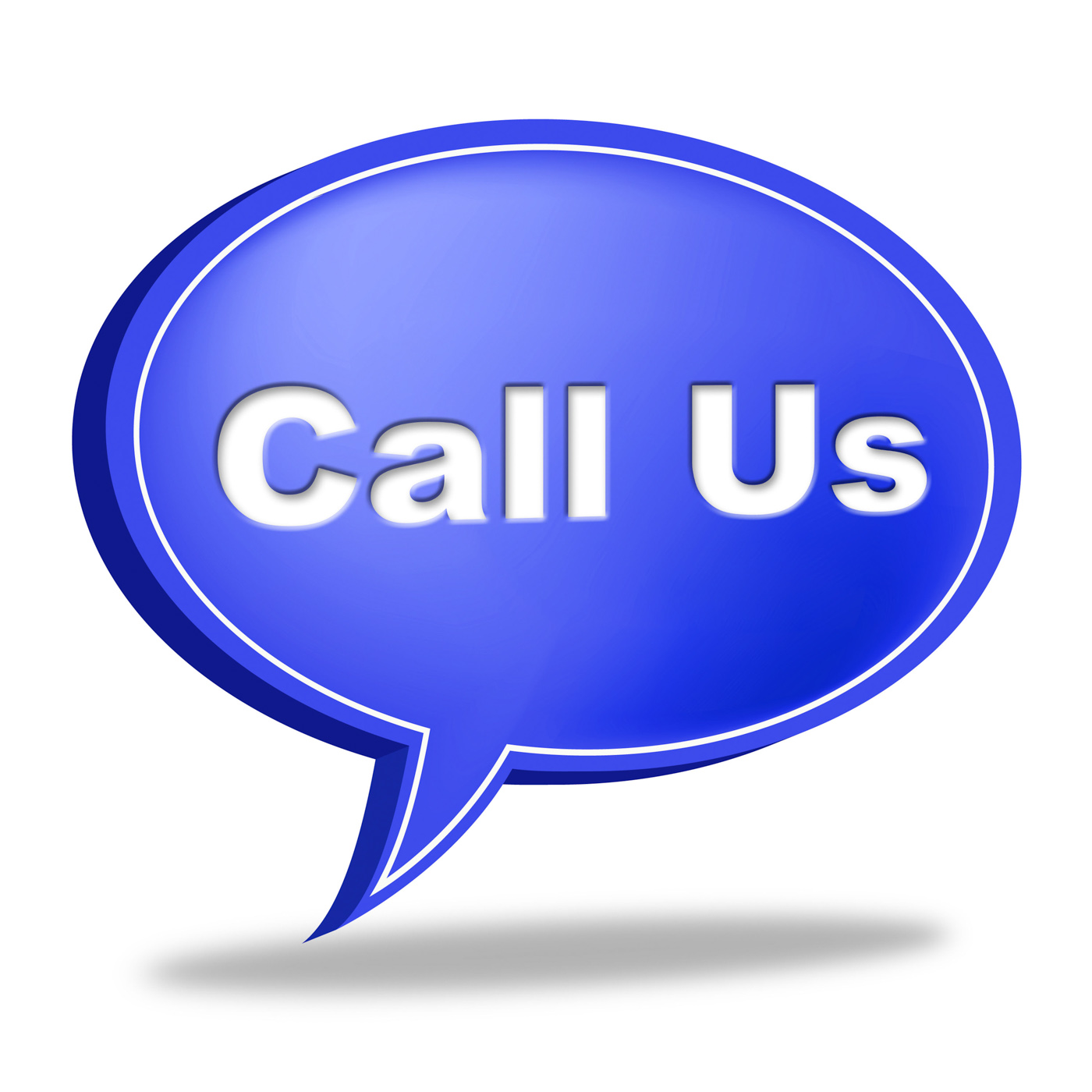 Call Us Sign Indicates Network Communicate And Chat