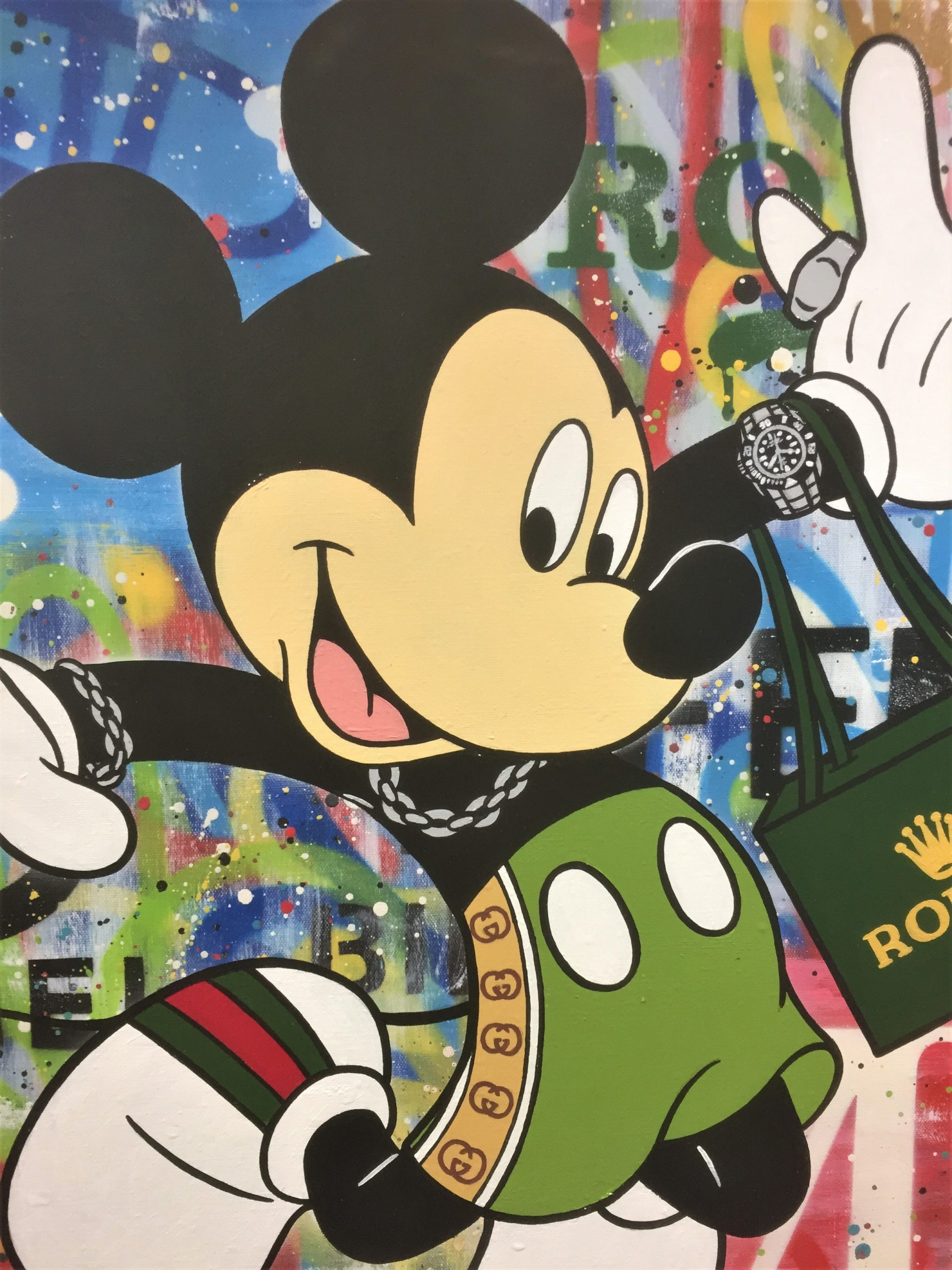 Micky And His Rolex – Detail