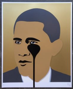 Crying Obama Gold by Pure Evil