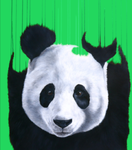 Pandemonium (Green) by Louise McNaught
