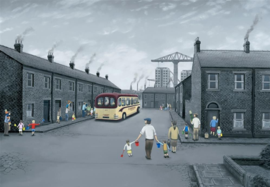 All Aboard for the Seaside by Leigh Lambert