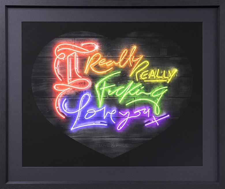 I really really fucking love you rainbow